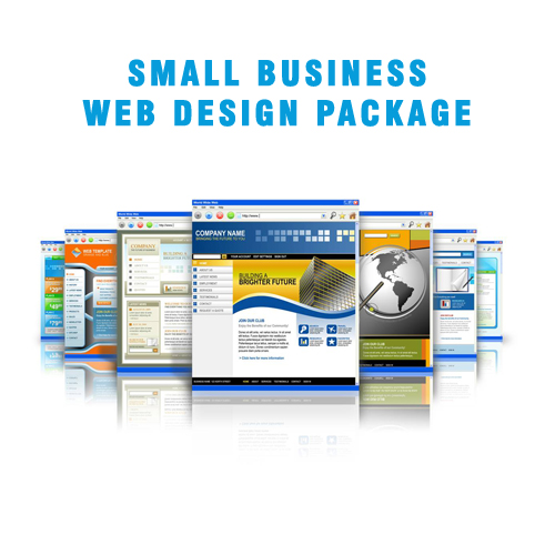 Affordable Small Businesss Web Design Package